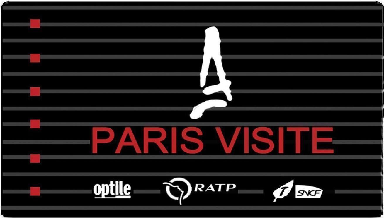 Karta Visite Paris Card karta komunikacja miejska zniżki Paryż Paris Paryz black card paris
