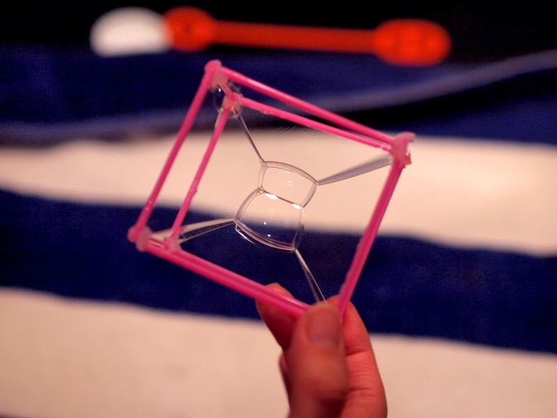 Make a double rectangular prism bubble