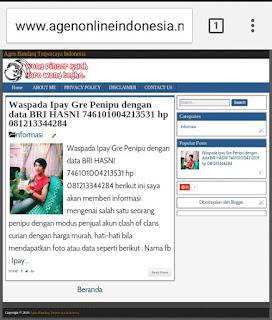 Template Baru Blog Agen Bandarq Terpercaya Indonesia agenonlineindonesia.net