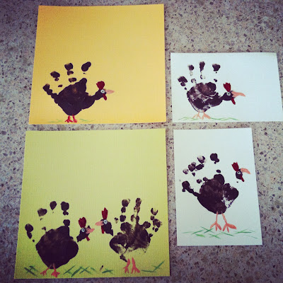 How to make cute whimsical Hand Turkeys | The Lowcountry Lady