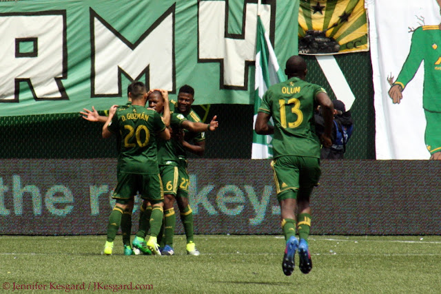 darlington nagbe, lawrence olum, david guzman, dairon asprilla