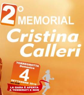 RISULTATI Memorial Cristina Calleri 2016