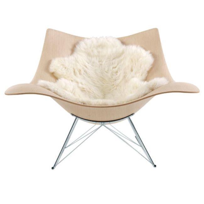 tüylü modern sandalye