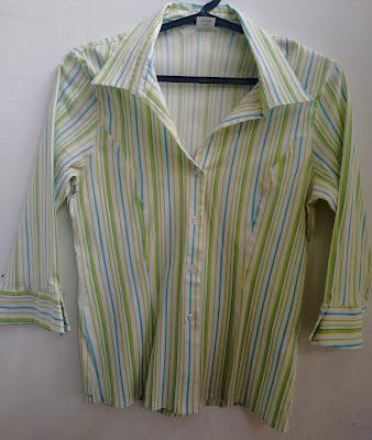 camisa listrada Intens tamanho G