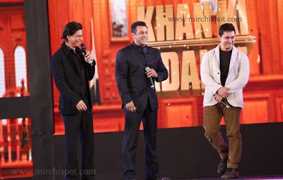 Great Friendship of Superstars - Shah Rukh Khan, Salman Khan and Amir Khan