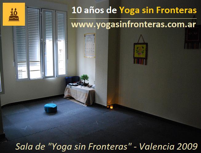 """10 años de """"Yoga sin Fronteras"""""""