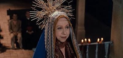 Fernanda Montenegro como Nossa Senhora na série O Auto da Compadecida: sucesso de ibope