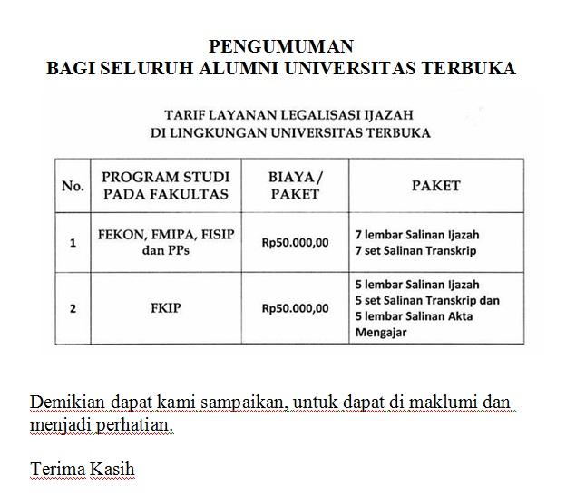 Ebook Universitas Terbuka