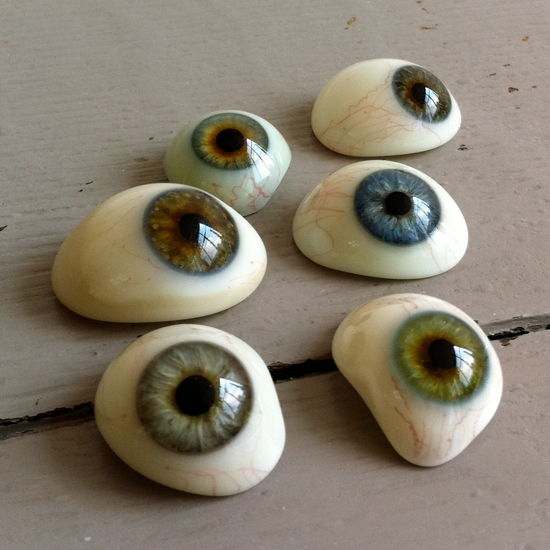 Vintage Glass Eyes 36
