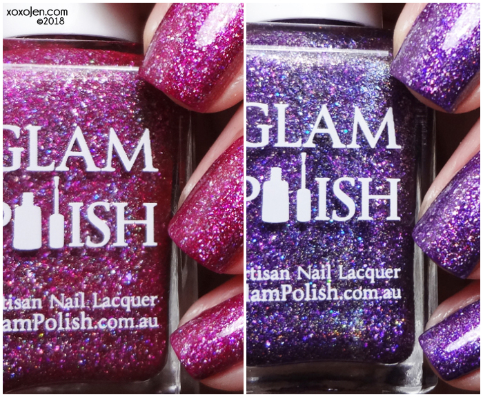 xoxoJen's swatch of Glam Polish Glam Polish: Anniversary Duo