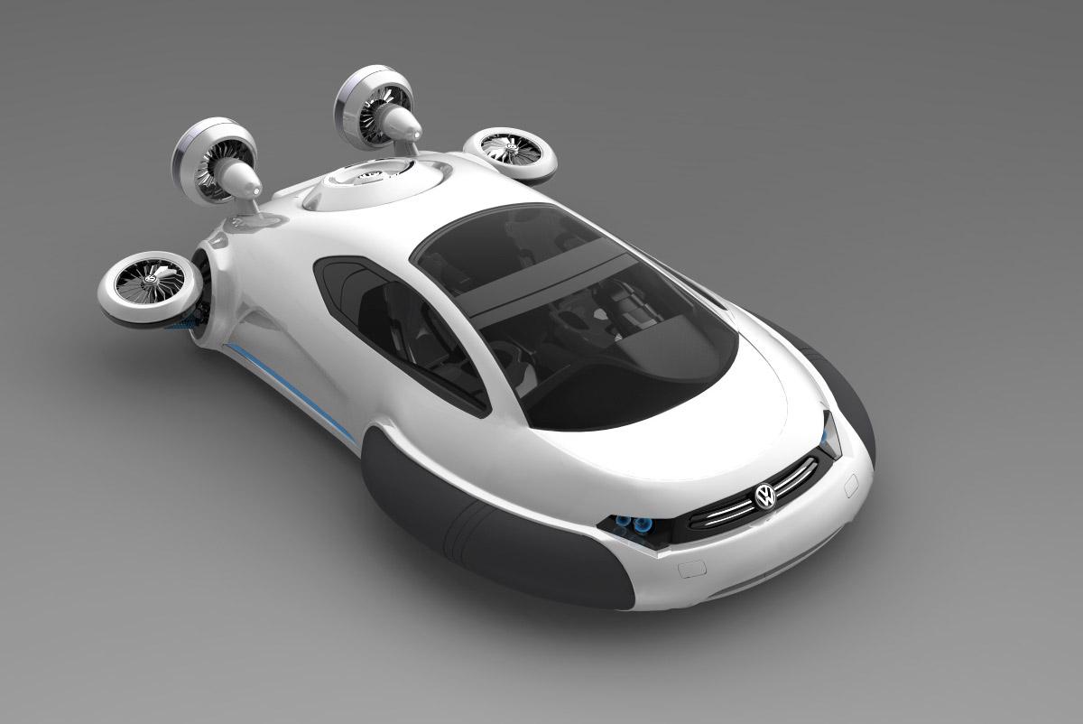 Att on Volkswagen Floating Car