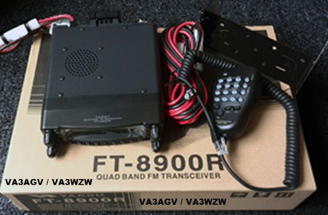 VA3AGV Yaesu FT-8900R Quad Band