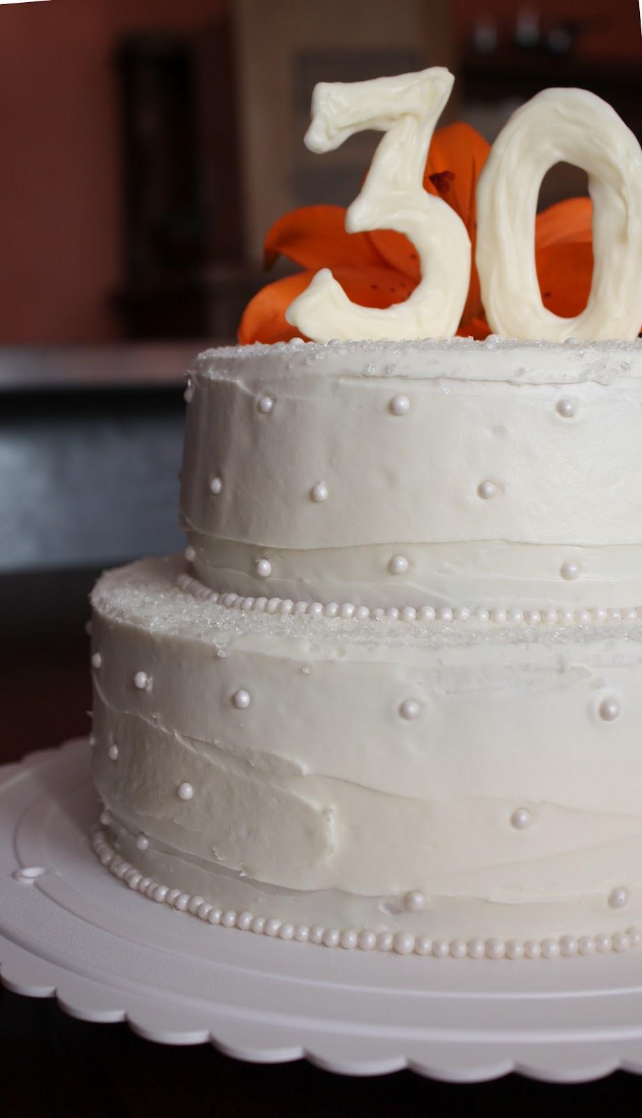 Straight To Cake 30th Anniversary Cake