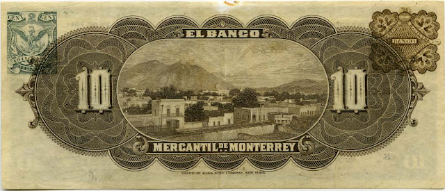 Diez pesos Billete Revolucion Mexicana