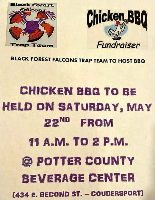 5-22 Chicken BBQ, Coudersport