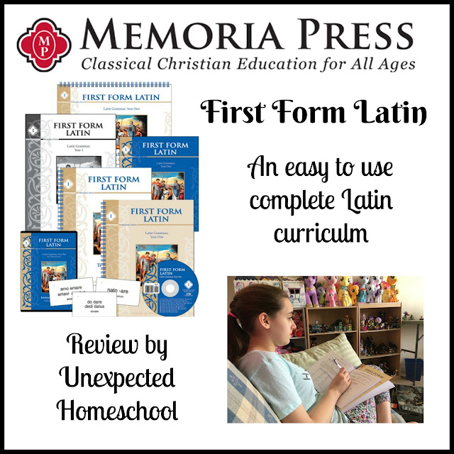 First Form Latin from Memoria Press - A review from a high school student.