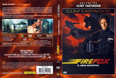 Firefox, el arma definitiva | 1982 | Firefox | Cover, caratula, dvd