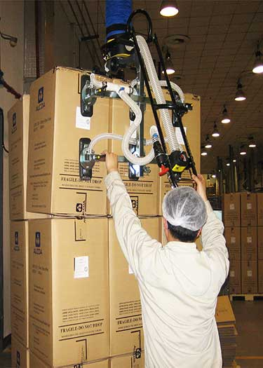 Box lifter for lifting several boxes