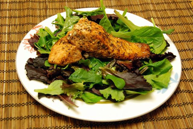香草焗三文魚食譜 baked salmon recipe