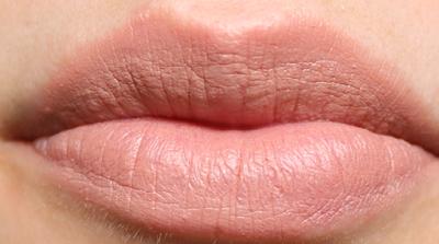 KIKO Velvet Mat Satin Lipstick in 601 Nude Rose review swatches