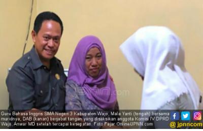 Alhamdulillah, Akhirnya Bisa Bernapas Lega, Guru Cubit Siswi Dinyatakan Bebas