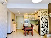 Cho thuê SGP tầng 32 tòa Topaz 2 - bàn ăn và phòng bếp.