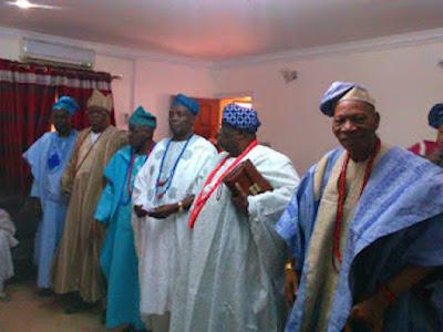 Ibadan high chiefs