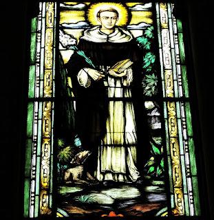 Vitral de São Domingo - Igreja das Dores, Santa Maria (RS)