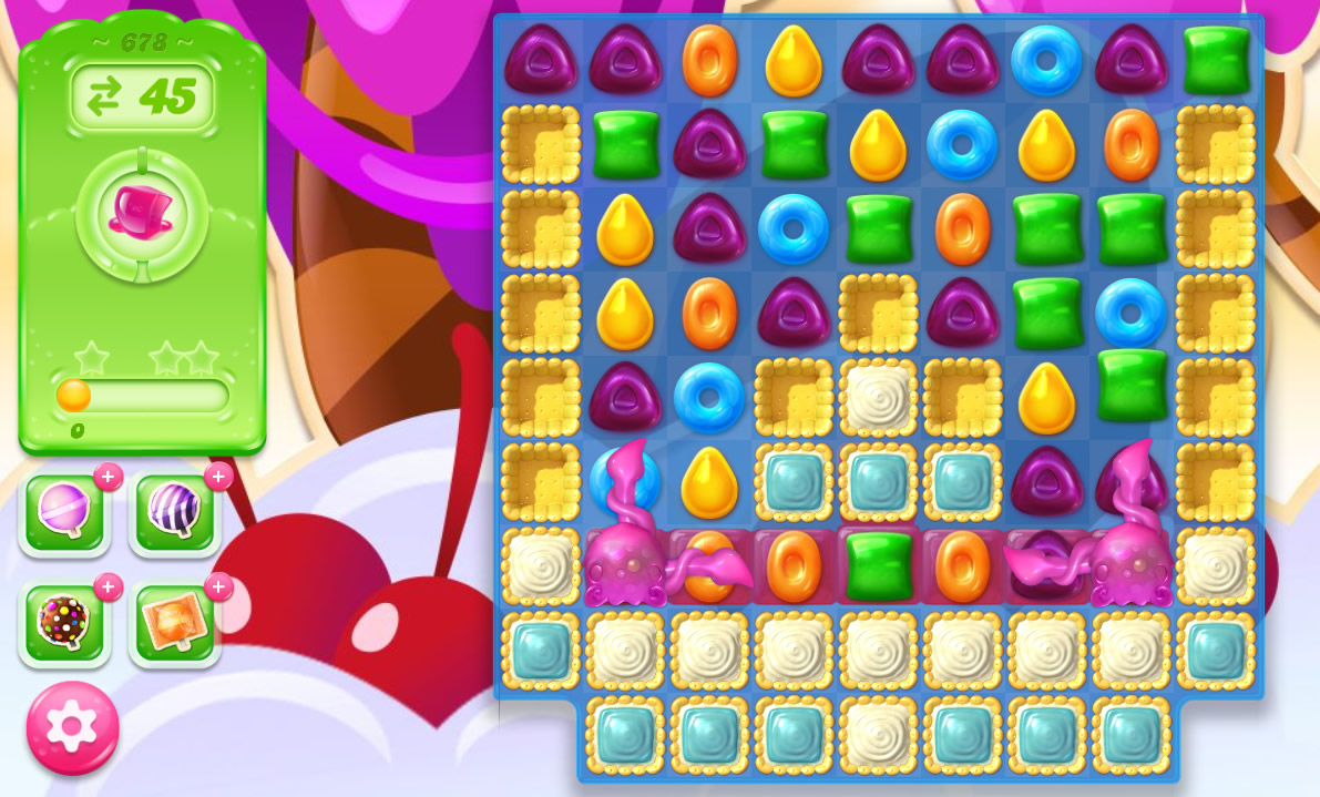 Candy Crush Jelly Saga level 678