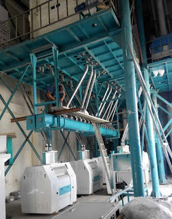 Wheat flour plant is running in Egypt and Algeria