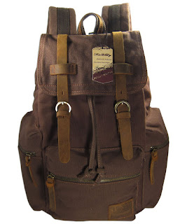 KAXIDY Multifunctional Casual Canvas Backpack Schoolbag,Traveling, Camping Bag £23.79