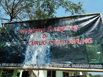Curug Cikuluwung Kolam Tosca Bogor Indonesia