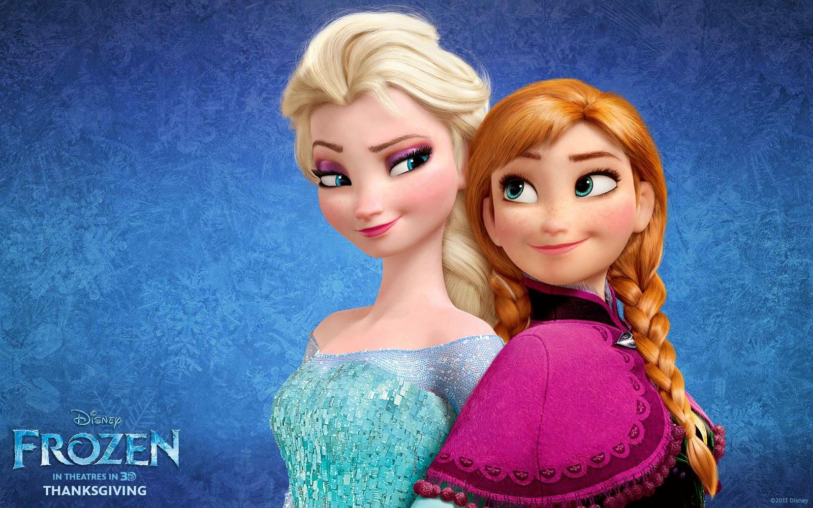 Frozen Anna Elsa Wallpaper HD