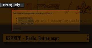 ASP.NET - Radio Button.aspx Open Source