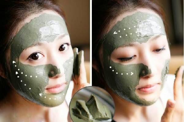 masker kacang hijau