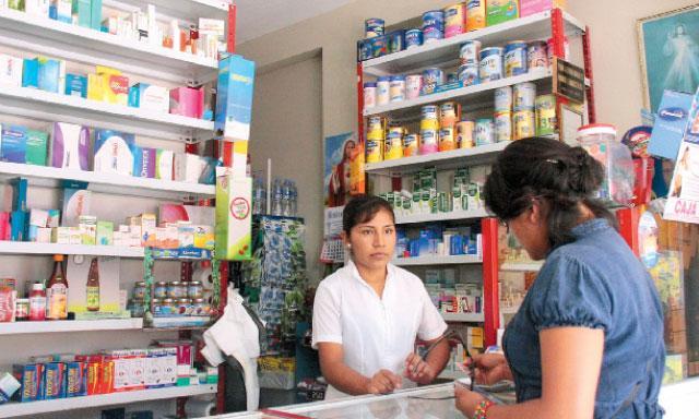 Poblaci n no asegurada consulta principalmente farmacias y boticas para solucionar problemas de - La farmacia en casa ...