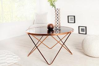Designovy konferenční stolek do obývacího pokoje Reaction.