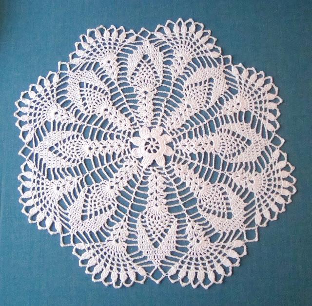 салфетка цветочком
