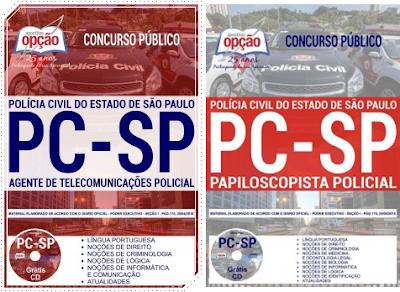Apostila para o concurso Polícia Civil do Estado de São Paulo 2018