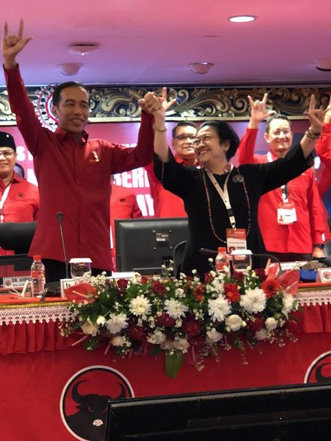 Apa Maksud Jokowi 'Naikkan Pangkat' Megawati?