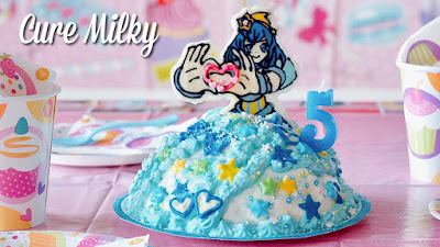 How to Make Cure Milky Dress Cake (Pretty Cure Chocolate Recipe)