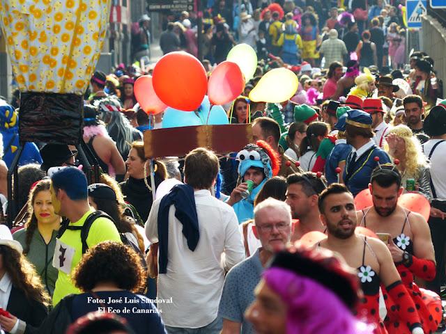 Fotos Carnaval del Día 2016 en Vegueta