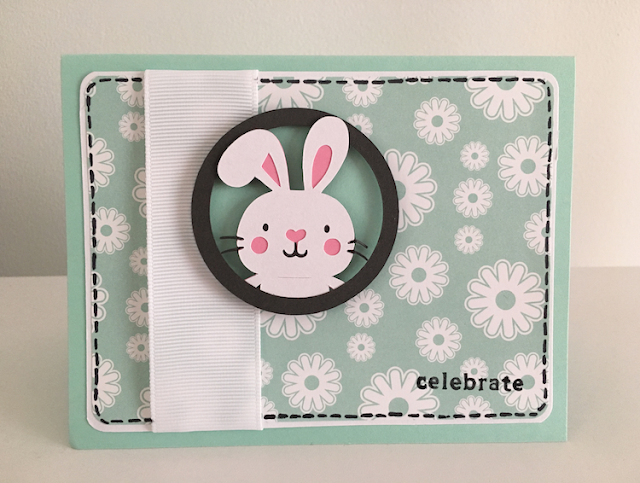 Cricut Create a Critter Bunny Card