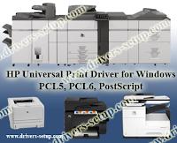 HP Universal Print Driver PCL5, PCL6, PostScript for Windows