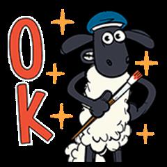 小羊肖恩 魔法贴图!