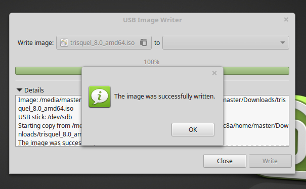 Ubuntu Buzz !: How To Create USB Bootable Easily in Linux Mint
