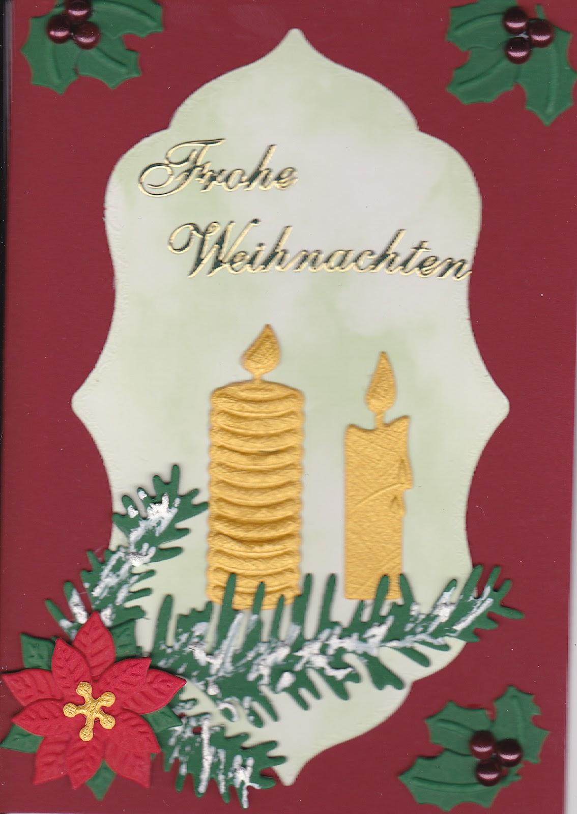 Gebastelte Weihnachtskarten.Trici Kreativ Es Gibt Doch Gebastelte Weihnachtskarten