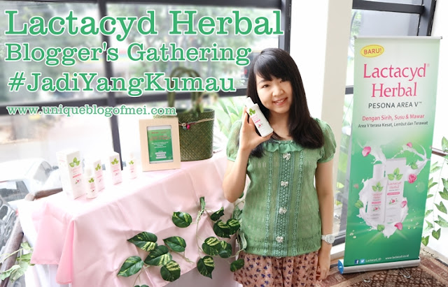 "Lactacyd Blogger's Gathering: ""Women are Special: Be Everything that You Want"" #HaloLactacydHerbal #JadiYangKumau"