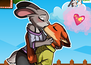 Zootopia Nick and Judy Kissing juego