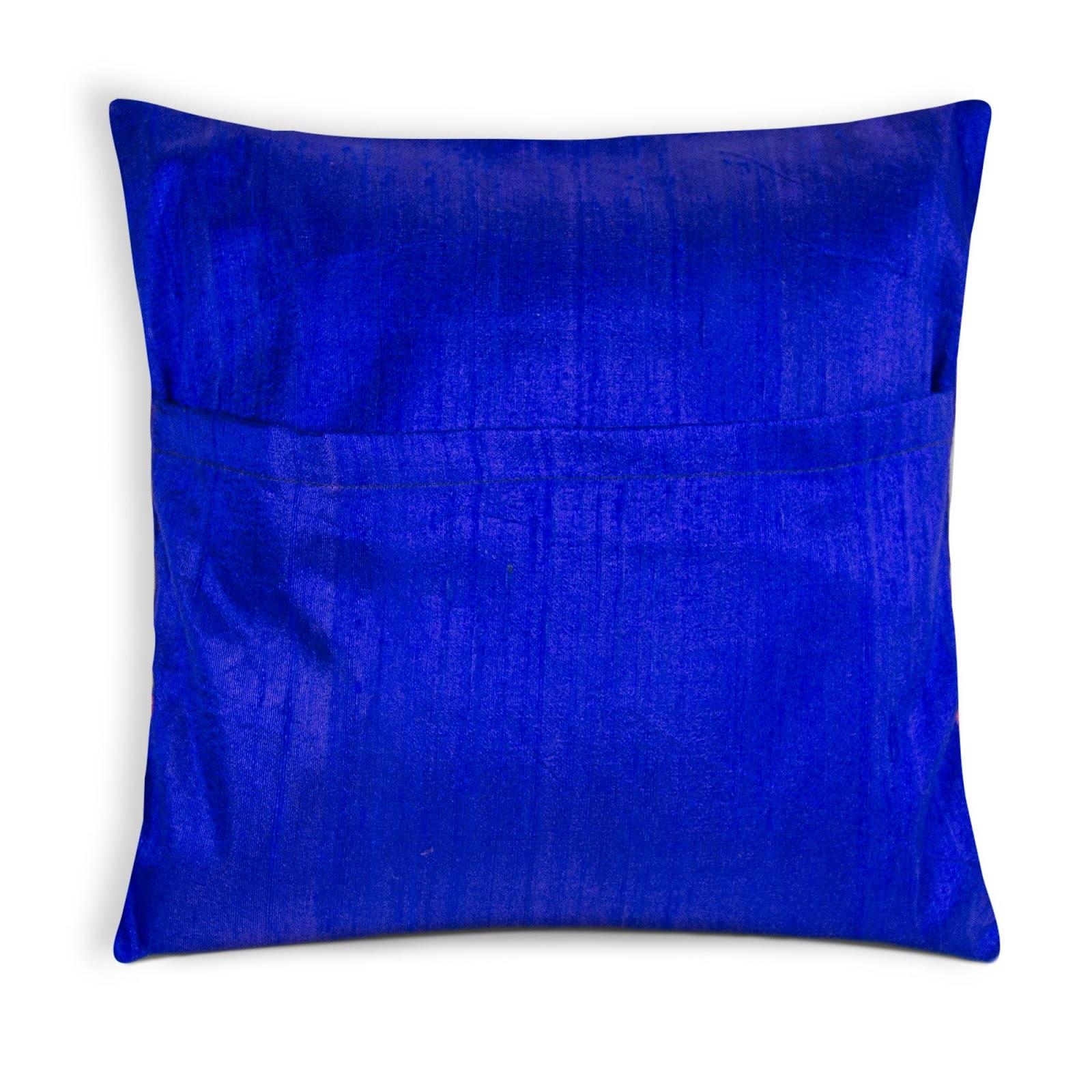 Blue Silk Pillows Yk66 Advancedmassagebysara